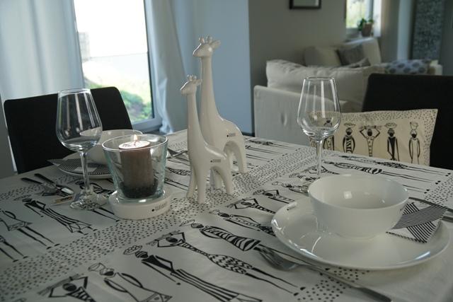 Afrika-Deko mit Giraffe Sita