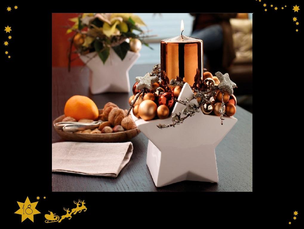 sternenzauber dekoideen f r weihnachten tiziano. Black Bedroom Furniture Sets. Home Design Ideas