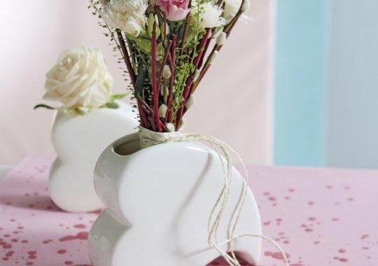 Valentinstag mit Herzvase Amore