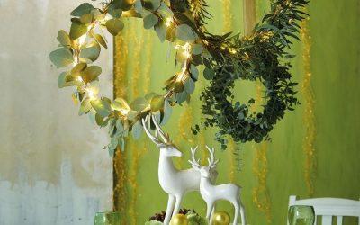 Türchen 14: Weihnachtliche Tischdeko mit Rentier Riola