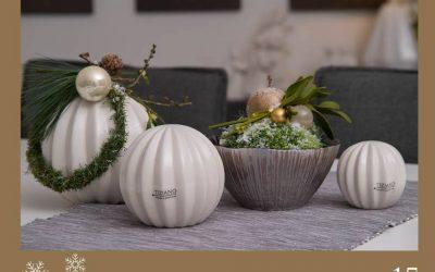 Türchen 15: Dekokugeln als Weihnachtsdeko