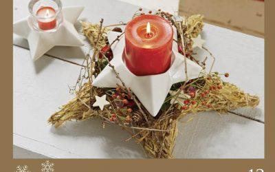 Türchen 13: Weihnachtsflair mit Kerzenlicht