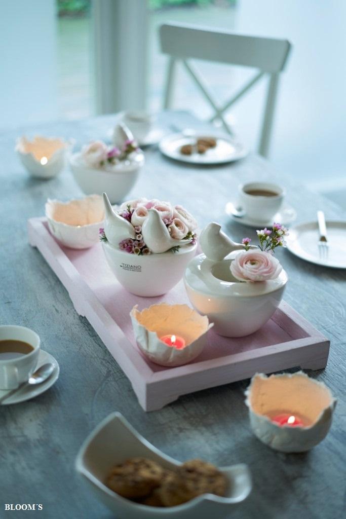 Dekotipp Fruhlingshafte Tischdeko Fur Die Kaffeetafel Tiziano