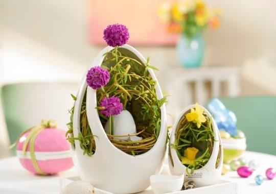 Osterdeko_wie aus dem Ei gepellt