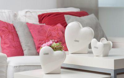 Von Herzen – romantische Wohnaccessoires zum Valentinstag