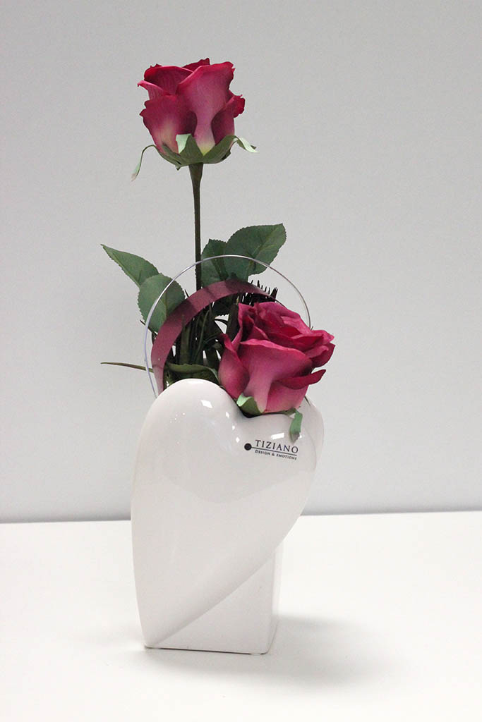 Wohnaccessoire zum Valentinstag_Vase Novare