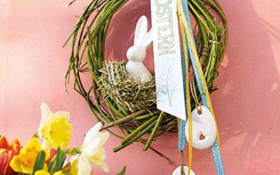 Frohe Ostern – Fensterdeko zu Ostern selber machen
