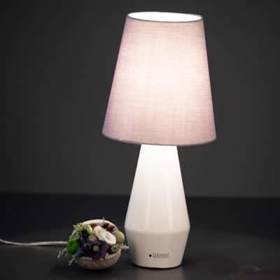 Lampe Rubin creme/grey