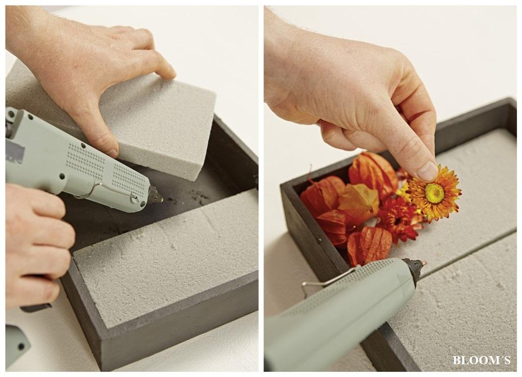 herbstdeko kreative wanddekoration selber gestalten tiziano. Black Bedroom Furniture Sets. Home Design Ideas