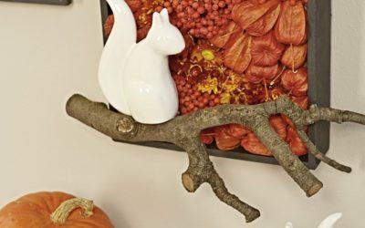 Herbstdeko: Kreative Wanddekoration selber gestalten
