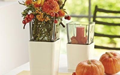 Wir feiern den Oktober mit warmem Licht und kräftigen Farben