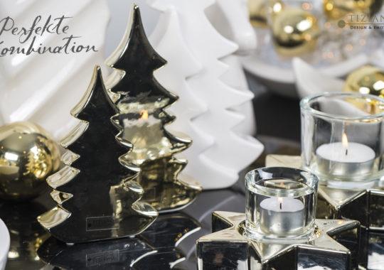 Weihnachtsdeko in Gold_Dekoideen