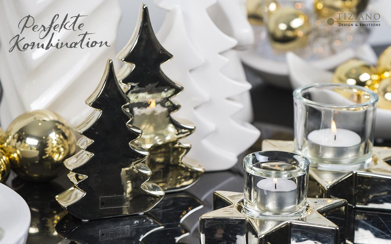 Edle Weihnachtsdeko 2019.Goldige Ideen 7 Deko Ideen Für Glanzvolle Zeiten Tiziano