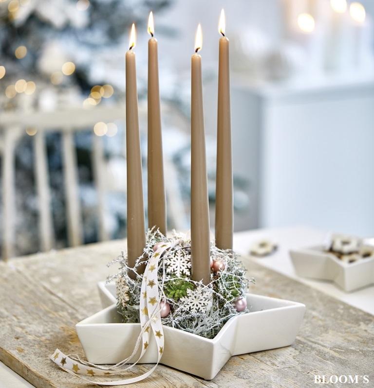 Weihnachtsdeko Für Adventskranz.Weihnachtsdeko Dieser Adventskranz Liegt Voll Im Trend Tiziano