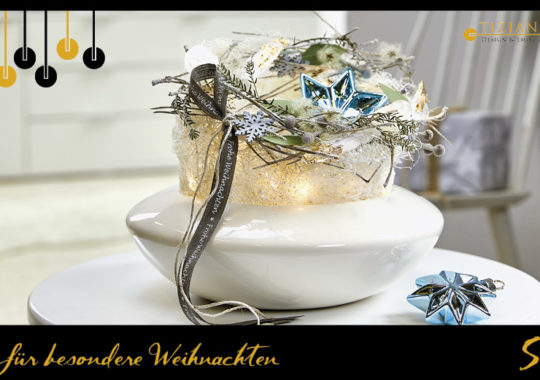 Winterfloristik als Geschenkidee zu Weihnachten