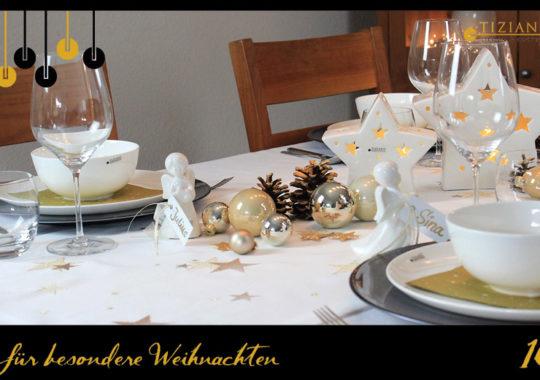 Tischdeko zu Weihnachten_Tisch weihnachtlich decken