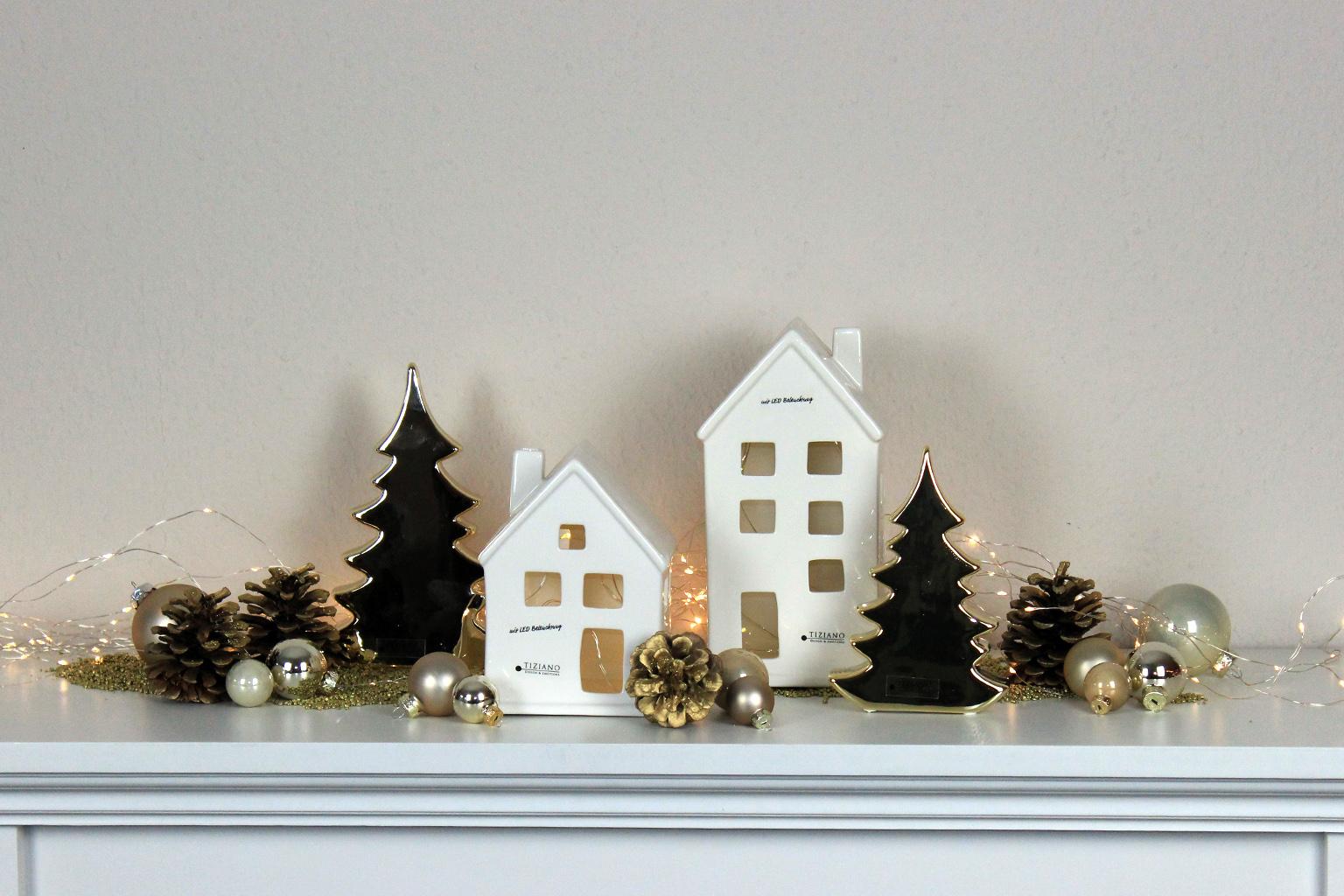 Dekotipp Glanzvolle Weihnachtsdeko In Gold Tiziano