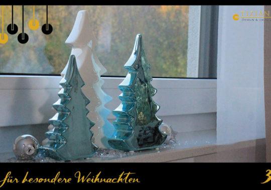 Weihnachtsdeko_Winterzauber in Türkis