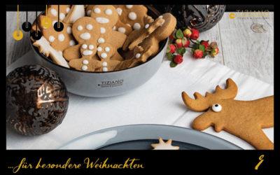 Rezept für Weihnachtsplätzchen: würzige Pepparkakor