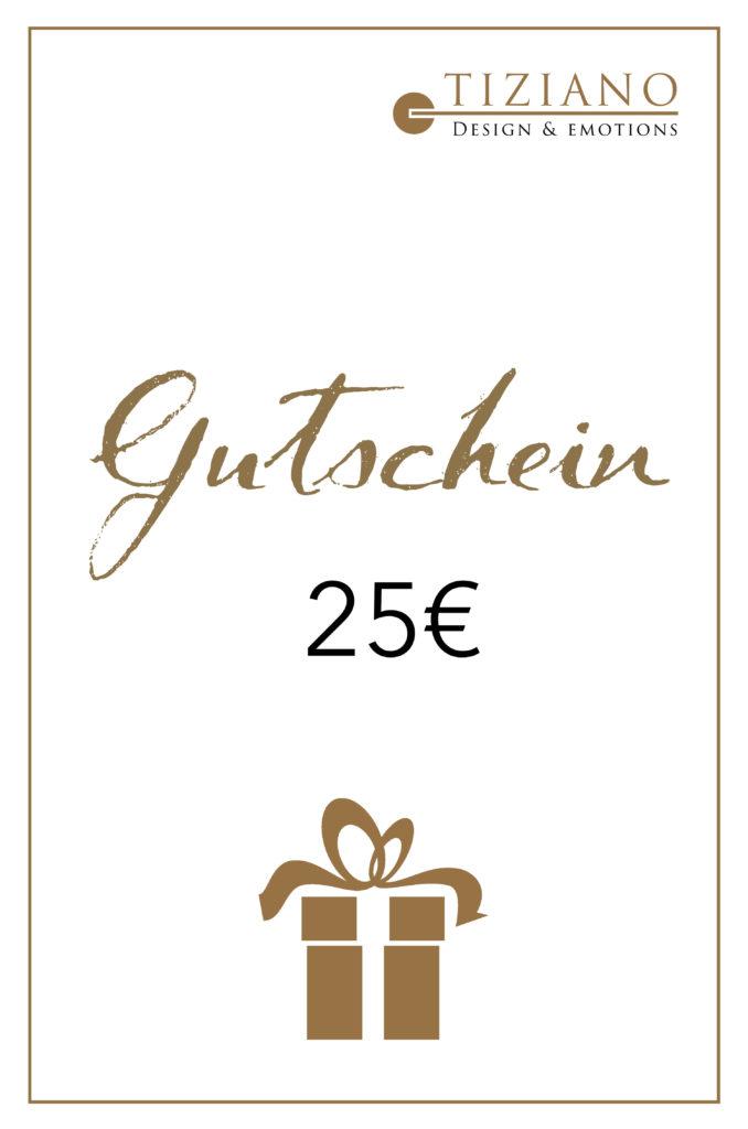 Gutschein25€