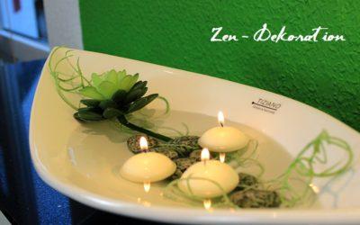 Zen Dekoration für Zuhause