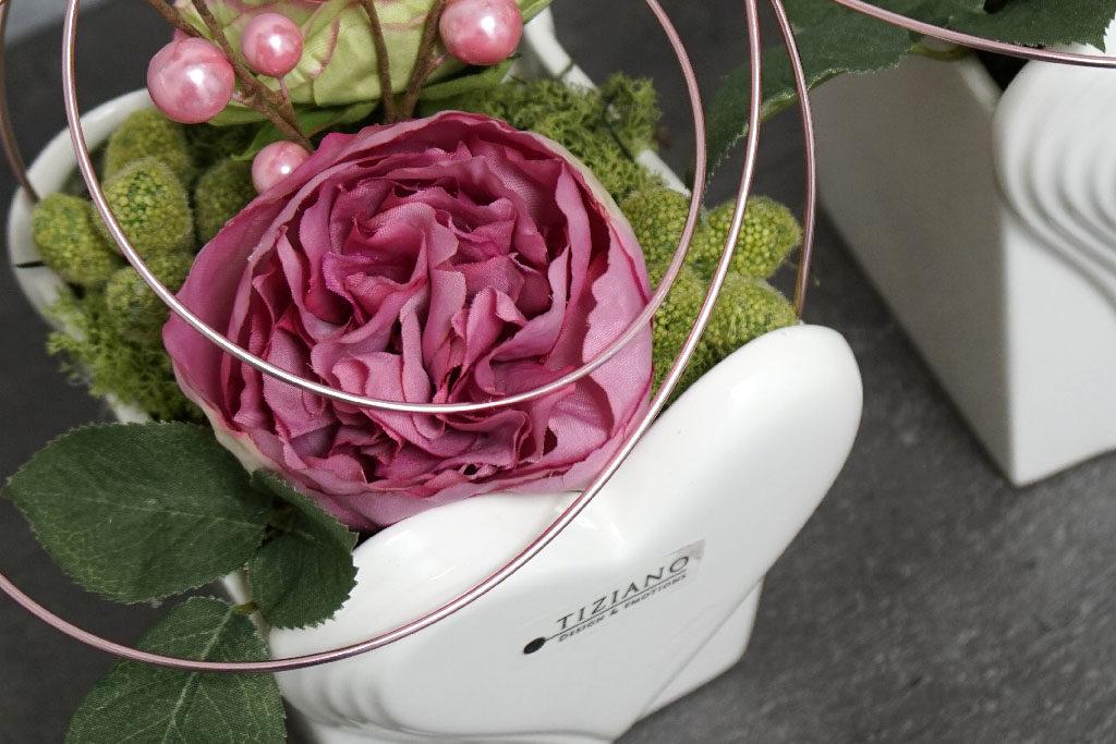 dekorierte Produkte zum Valentinstag