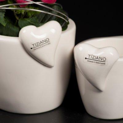 Tiziano Kübelhänger Herz Amore