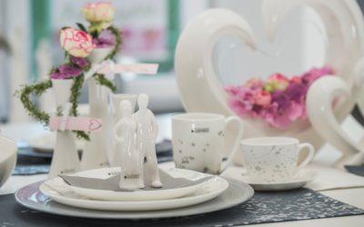 Tischdeko zum Valentinstag: Zeit für Zwei