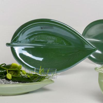 Falda Schale metallic dunkelgrün