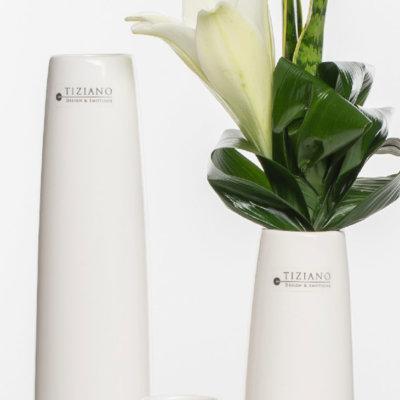 Limena Vase creme Detail