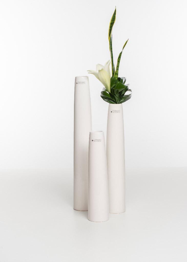Limena Vase creme Farbvariationen