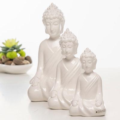 Shiva Figur Buddha creme