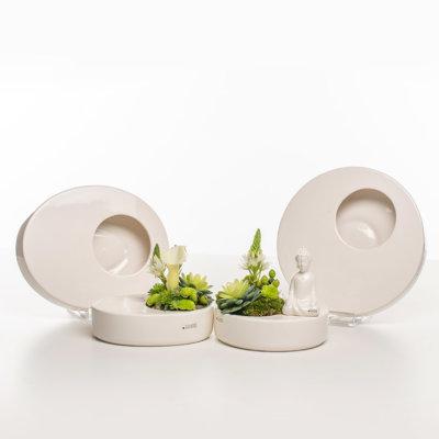Zena Schale rund und oval