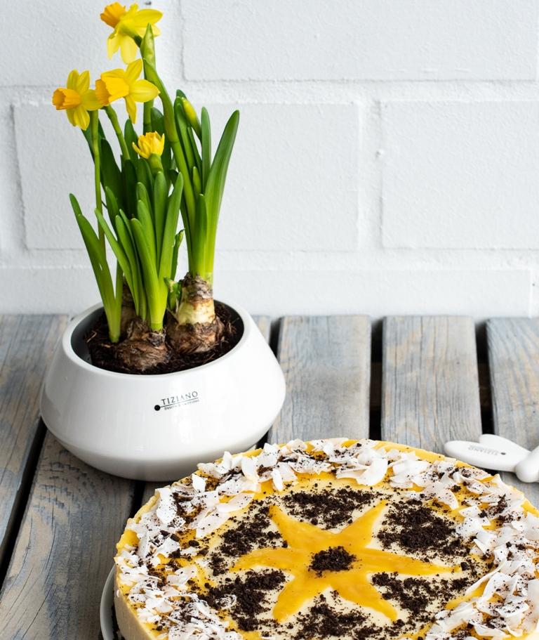 Tischdeko Ostern Narzissen