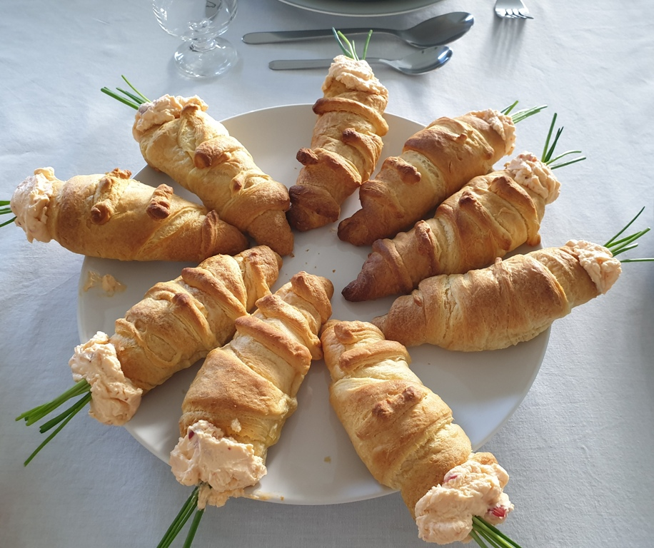 Tischdeko Ostern mit Tulpen_Rezept