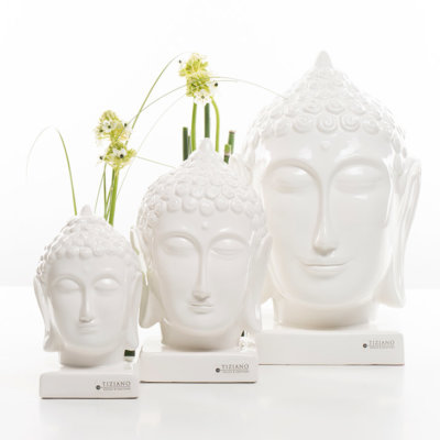 Buddha Kopf creme Variationen