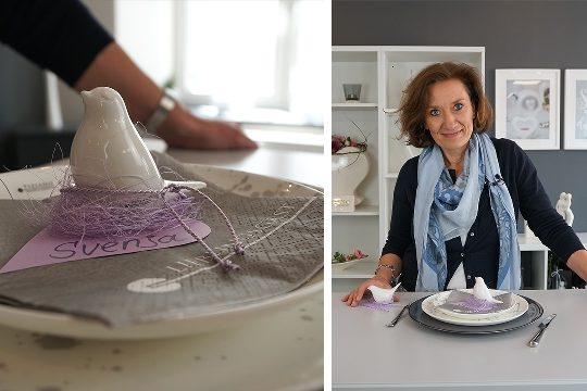 Tischkärtchen zur Hochzeit selber machen - DIY