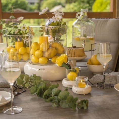 Sommerdeko leicht gemacht: Tipps für Deine Tischdeko zur Gartenparty