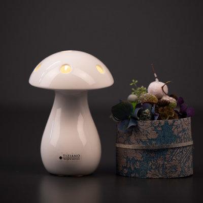 Miro LED Pilz creme einzeln