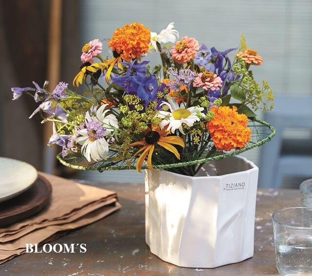Vase für Sommerblumen