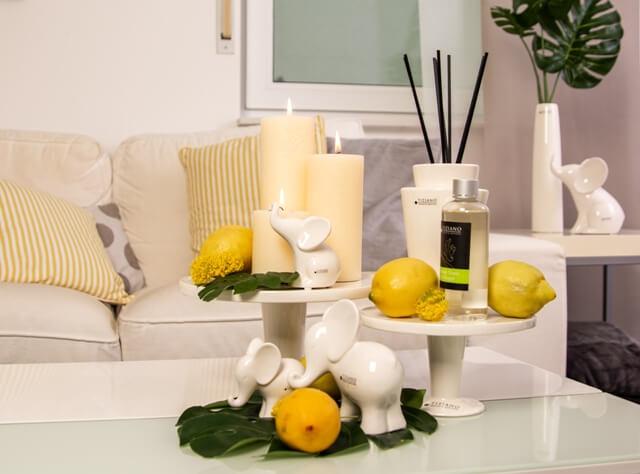 sommerdeko und gleichzeitig hausmittel gegen m cken tiziano. Black Bedroom Furniture Sets. Home Design Ideas
