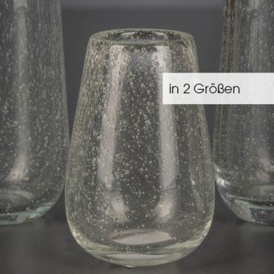 Vase Ronja bauchig cristal