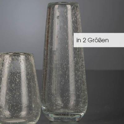 Vase Ronja cristal hoch