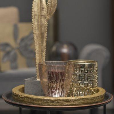 Tischlicht Manhattan champagner gold