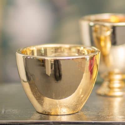 Tischlicht Lancaster gold