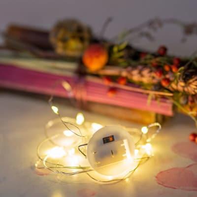 Lichterkette warmes Licht