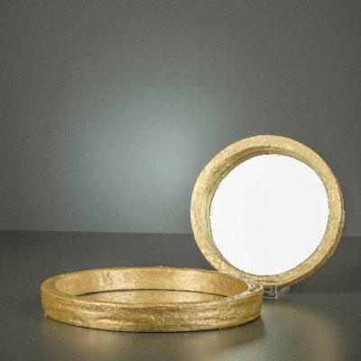 Spiegel Illusion champagner gold