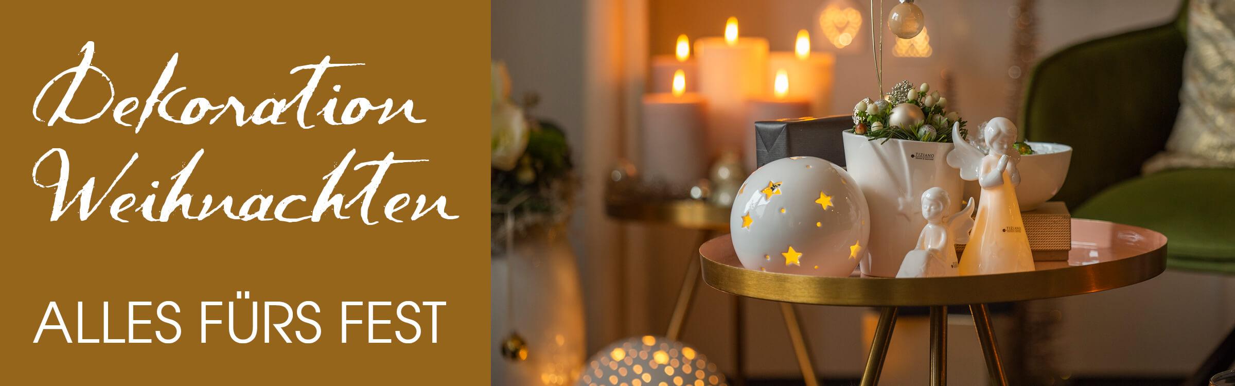 Weihnachtsdeko 2020 Figuren Hanger Lichter Uvm Tiziano
