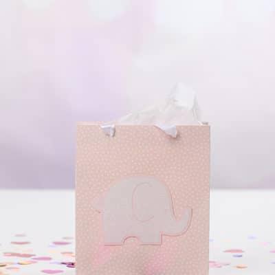 Tasche mittel Babyfant rosa