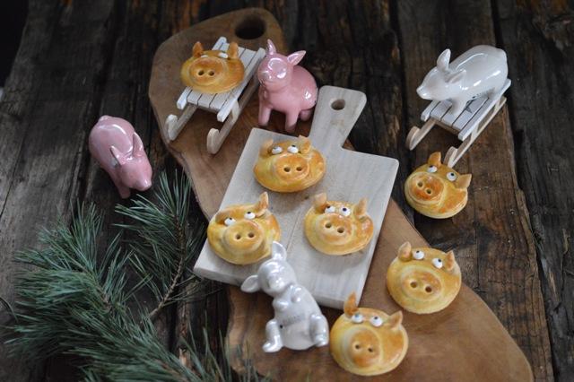 Gluecksschweinchen selber machen als Silvesterdeko